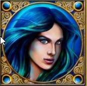 Amphitrite die Gemahlin des Poseidon, hier als Portrait Abgebildet im Spiel Lord of the Ocean