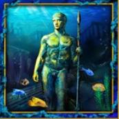 Abbildung einer Statue im Slot Lord of the Ocean
