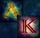 Die Kartenwerte Ass und König sind die zweitniedrigsten Symbole bei Lord of the Ocean