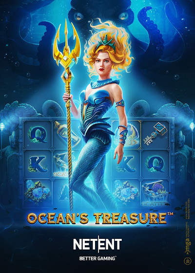 Anzeigeplakat für Slot Ocean's Treasure