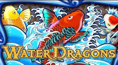 Logo Water Dragons Slot