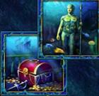 Speerträger und Schatztruhe. 2 gleichwertige Symbole beim Slot Lord of the Ocean
